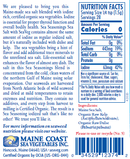 Sea Salt with Sea Veg - Sea Seasonings Shaker - Organic Default Title - Maine Coast Sea Vegetables