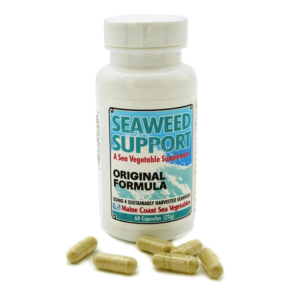 Seaweed Support Supplement - Original Formula 1 Bottle (60 Capsules) - Maine Coast Sea Vegetables