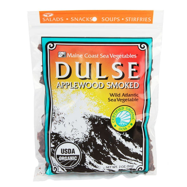 Smoked Dulse Whole Leaf 2 oz Bag - Organic Default Title - Maine Coast Sea Vegetables
