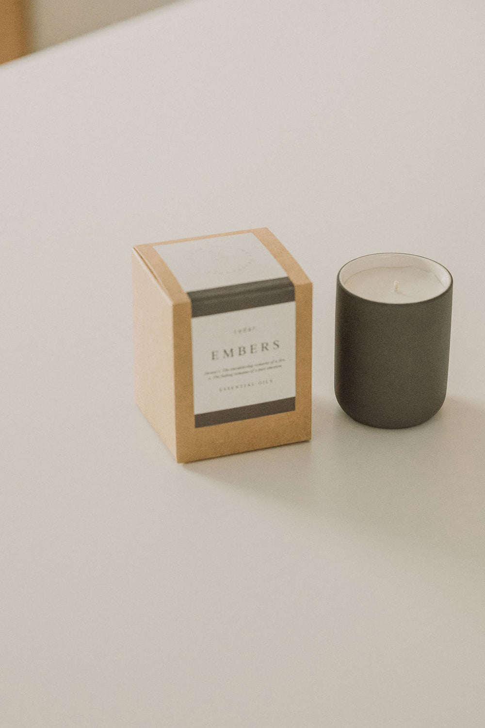 Cedar Lifestyle |  Embers Candle - 100% Natural - Reusable Vessel