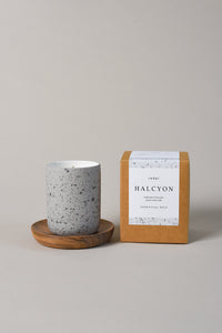 Cedar Lifestyle |  Halcyon Candle - 100% Natural - Reusable Vessel