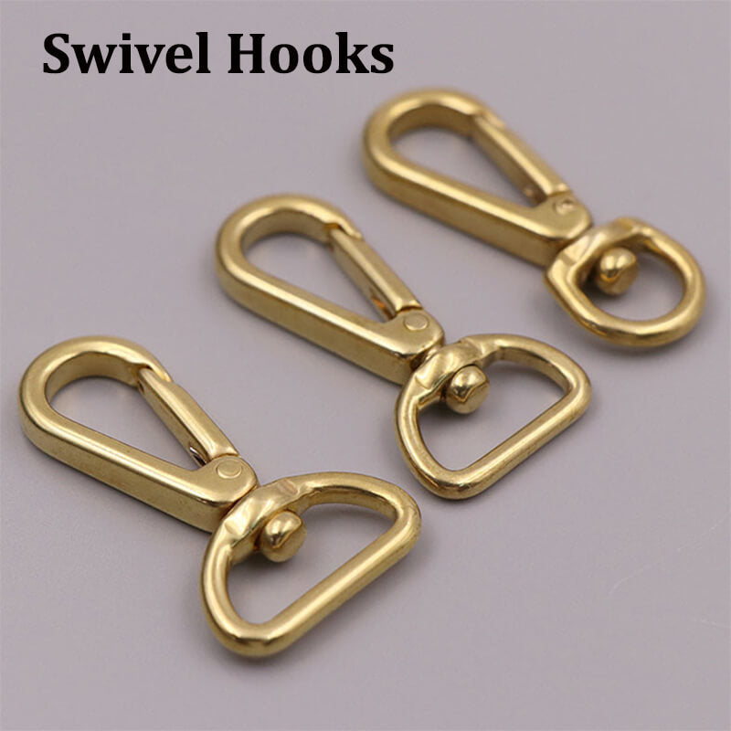Push Gate Snap Hook Swivel Push Gate Lobster Clasps Hooks Push gate Clasp 1 Swivel Hook Lobster Clasp for Sewing Projects Push Gate Swivel Snap Clips Purse Making Pack of 15 Antique Brass 1 inch