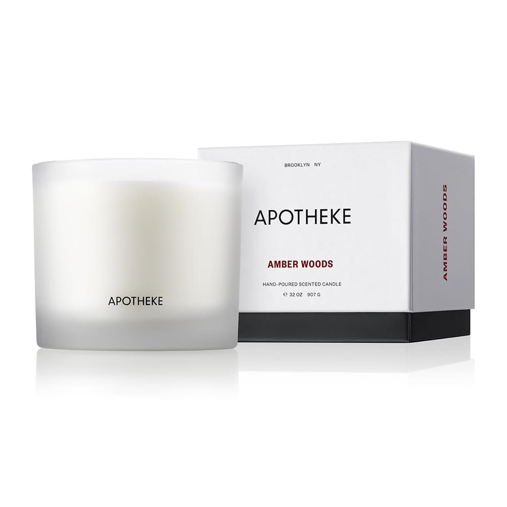 Amber Woods 3-Wick Candle - Apotheke Co3-Wickapothekebrooklyn
