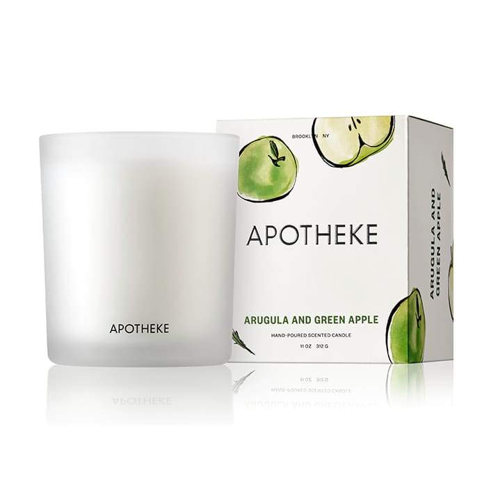 Arugula and Green Apple Candle - Apotheke CoCandleapothekebrooklyn