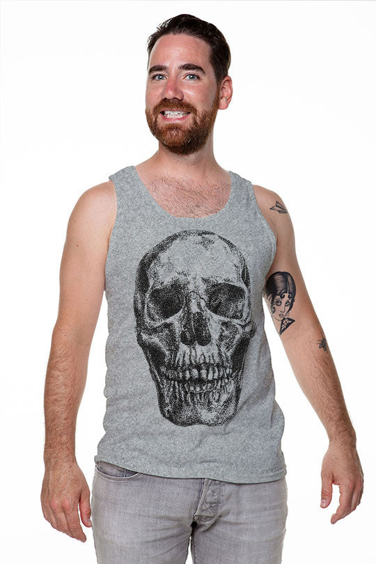 Connect the Dots or Die - Men Tank Top grey