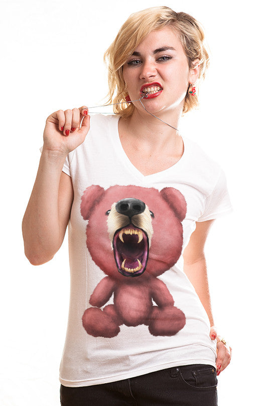 free-hugs-bear t shirts women