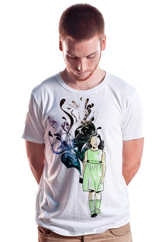creativity-abstract t shirt men