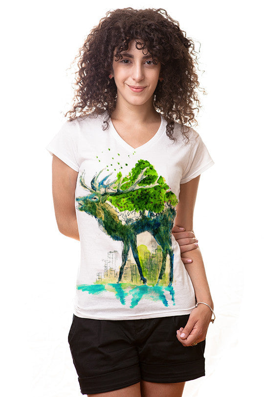 wilder-life-nature t shirt women