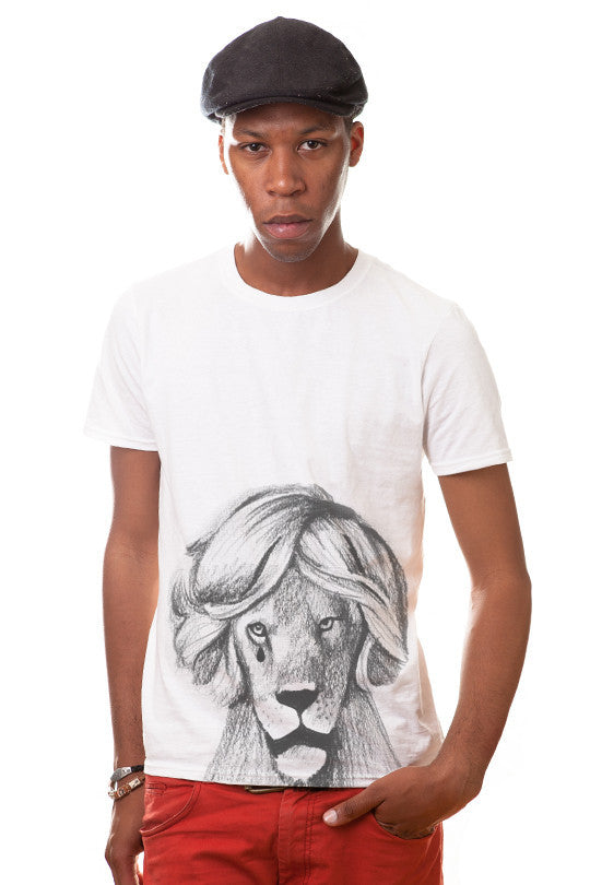 emo-lion-graphic tee men