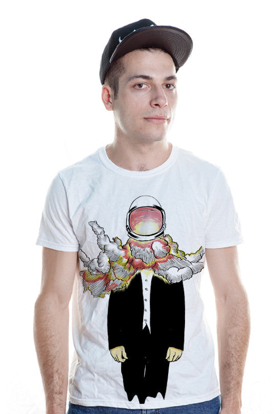 head-blast-space t shirt men