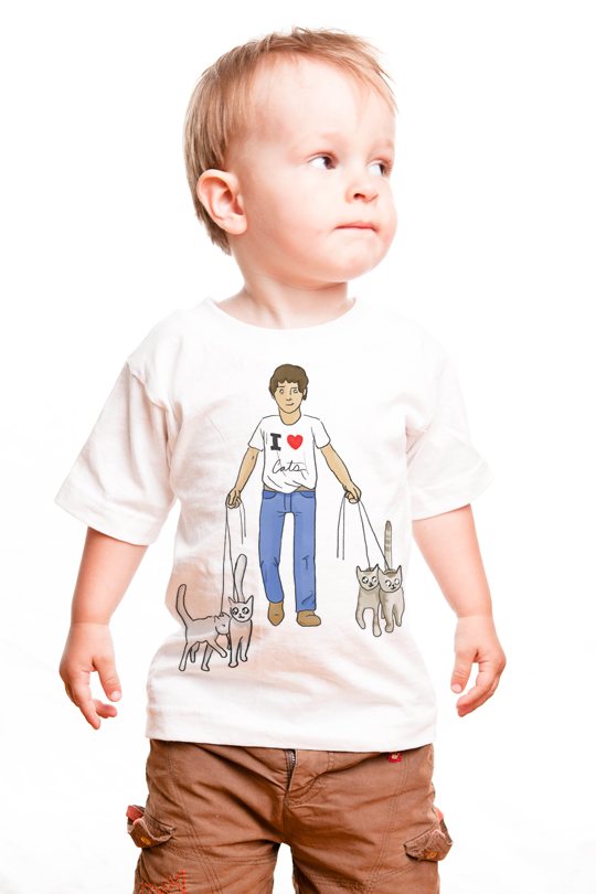 I Love Cats  Kid T-Shirt