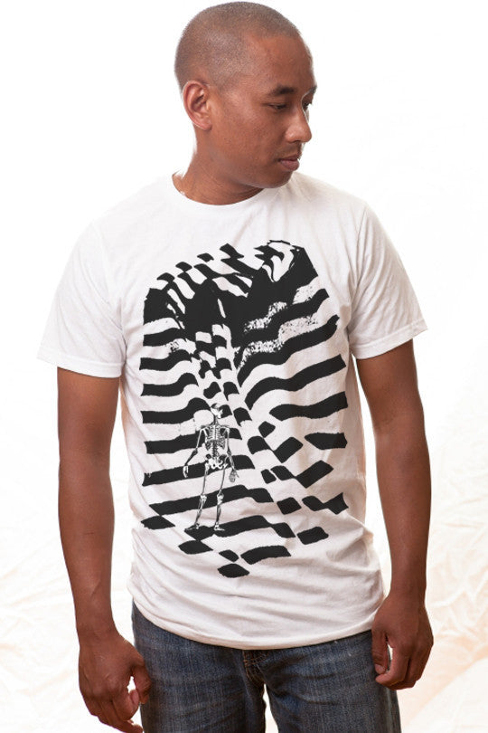 inverted-abstract t shirt men