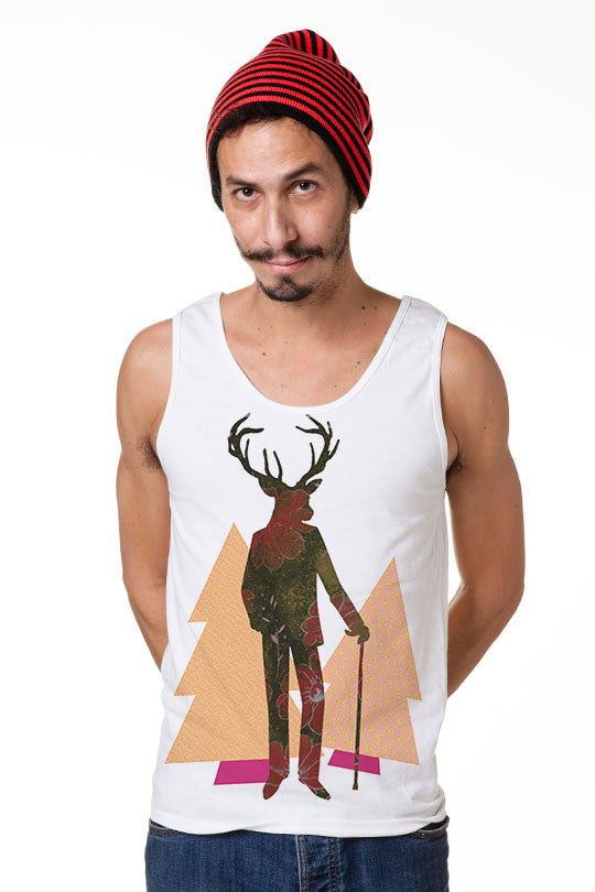 sweet deer tank top men