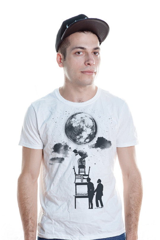 the-sky-is-the-limit space t shirt men