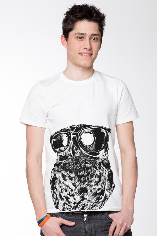 Big Eyes Owl Graphic Tee