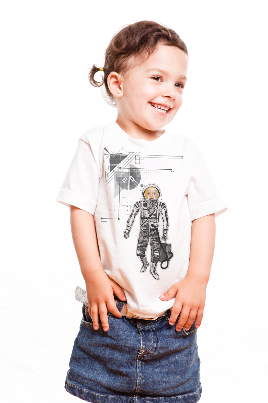 Space Baby Kid T-Shirt girl