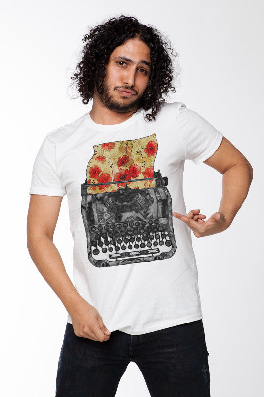 Creative Writing Abstract Tee men