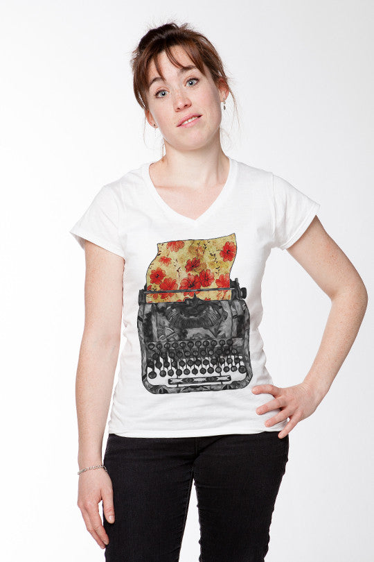 Creative Writing Abstract Tee