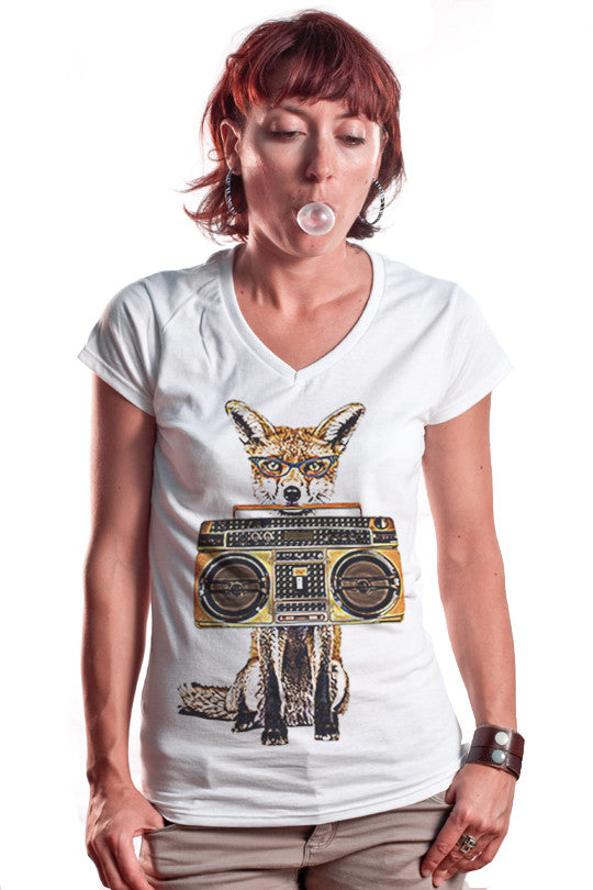 cool radio t shirt women