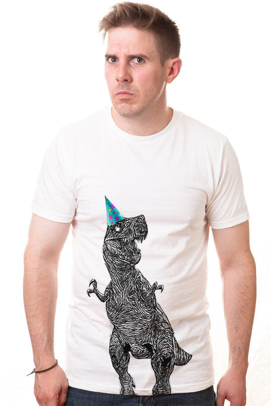 birthdaysaurus-funny t shirt men