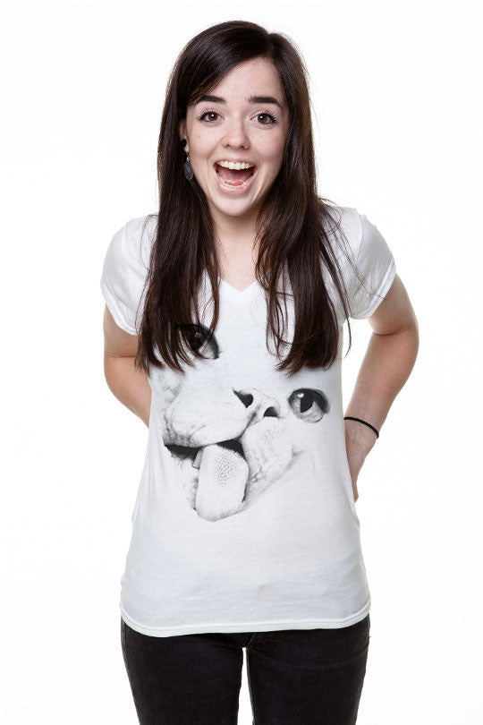 ugly-cat-face-tee white
