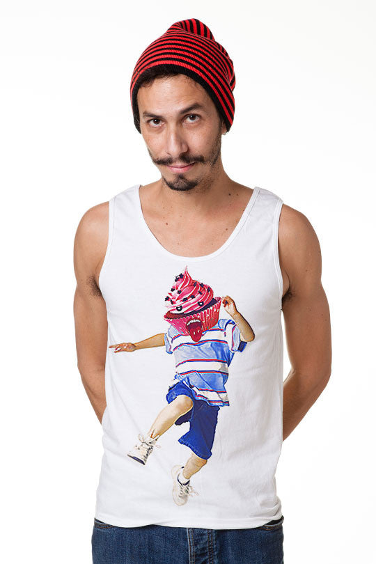 Cupcake Tank Top Shirt Men