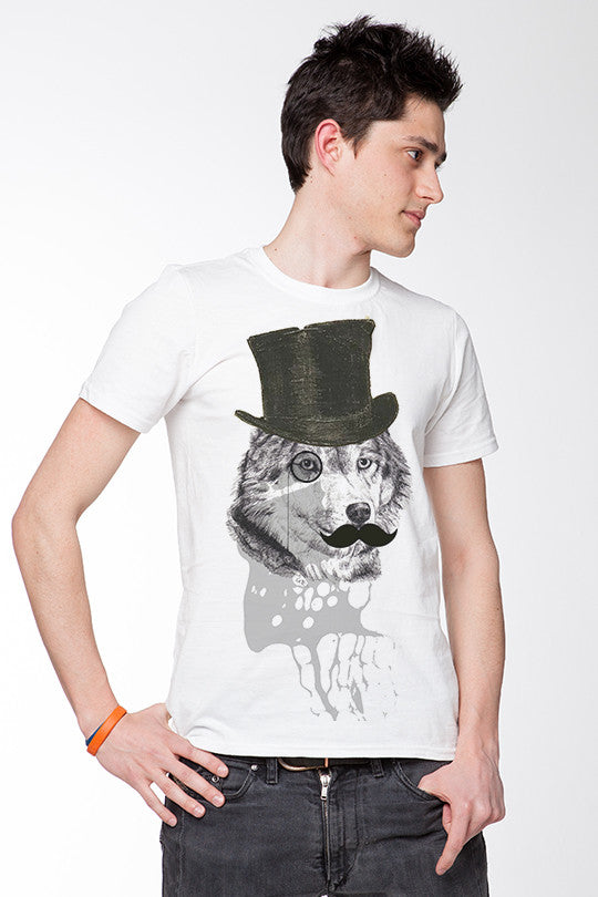 Dandy Wolf Graphic Tee men