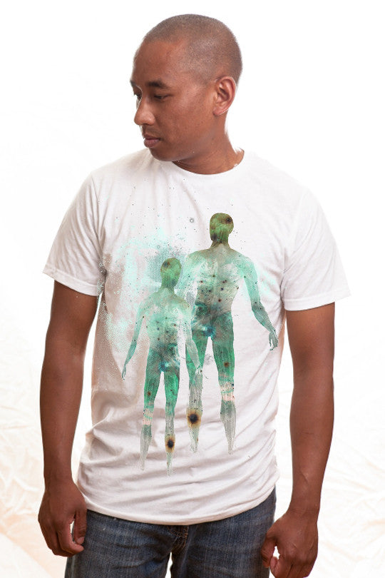 space t shirt men