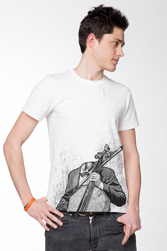 Face The Music Graphic Tee men
