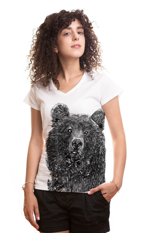 free-hugs bear t shirt women