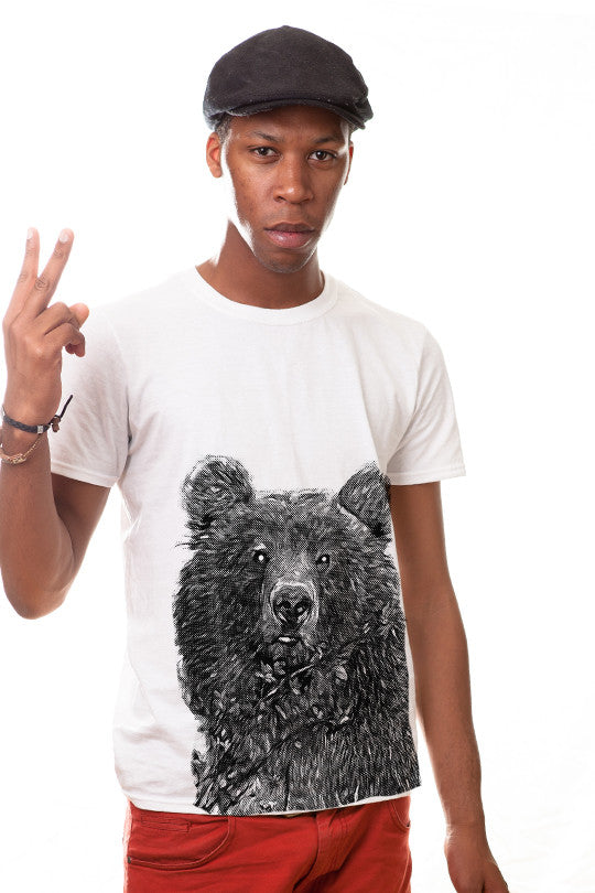 free-hugs bear t shirt men