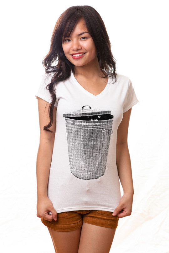 garbage monster t shirt women