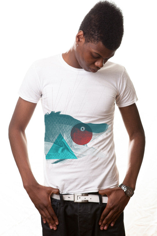 Cool Fish T shirt Men