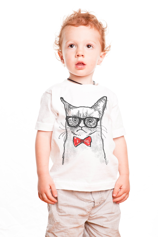 Grumpy Cat Kid T-Shirt
