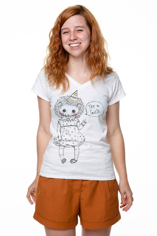 Michela Tannoia - Hedgehog Party - T-Shirt