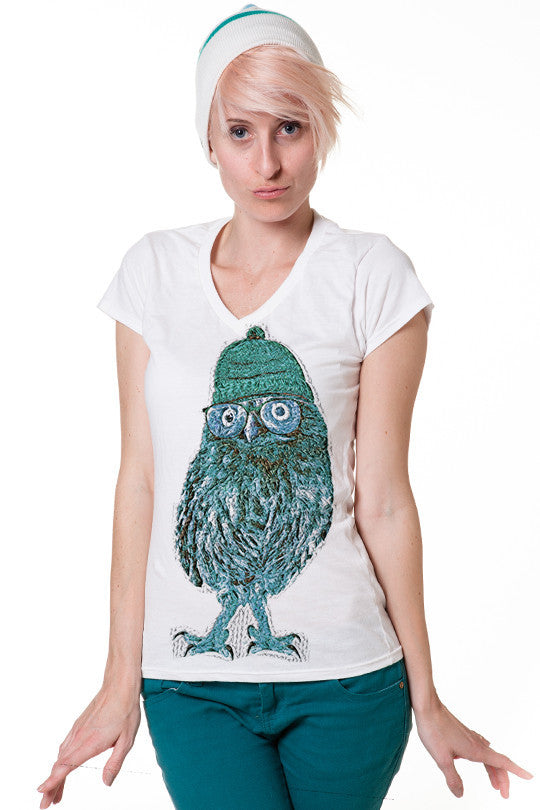 geek-owl-t shirt design women
