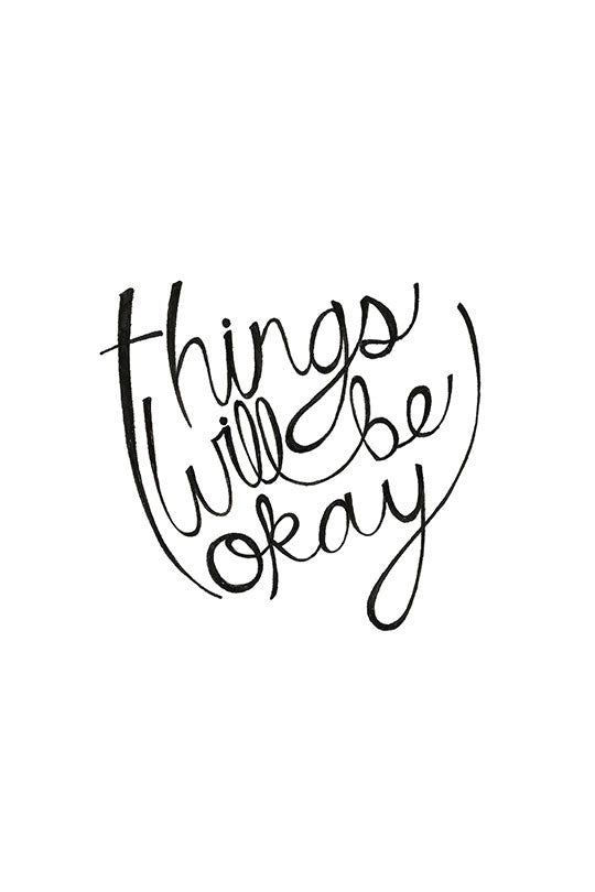 Things Will be Okay - Men Tank Top art