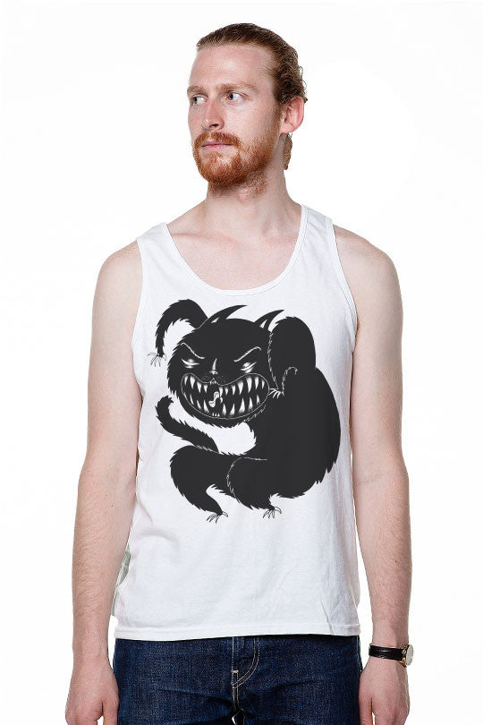 Marylou Faure - Monster - Men Tank Top white