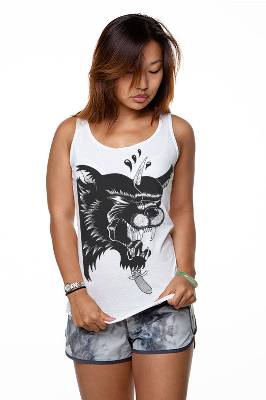 Marylou Faure - Beast - Women Tank Top