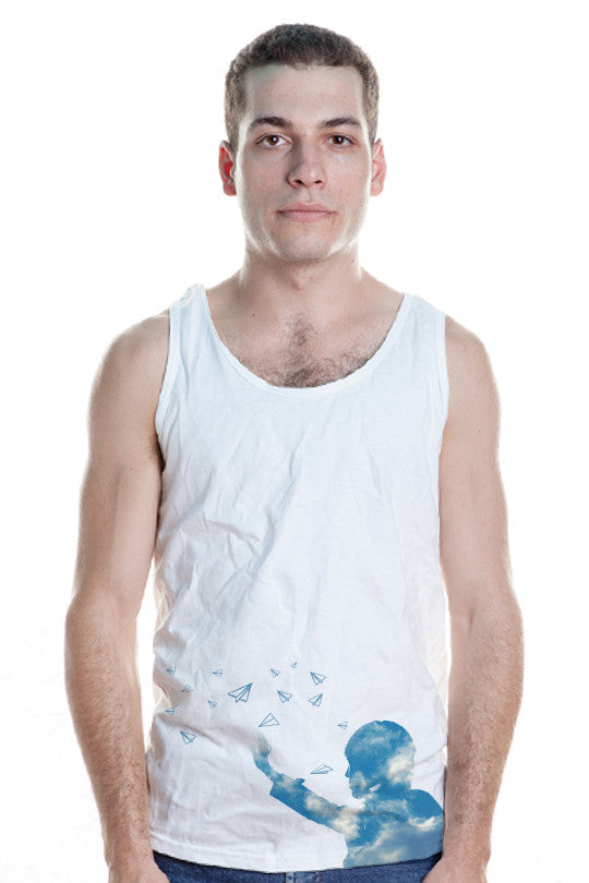 Creative and Artistic Tank Top men