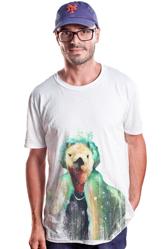 polar-queen graphic tee men