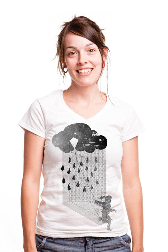 rain-chase-abstract t shirts women