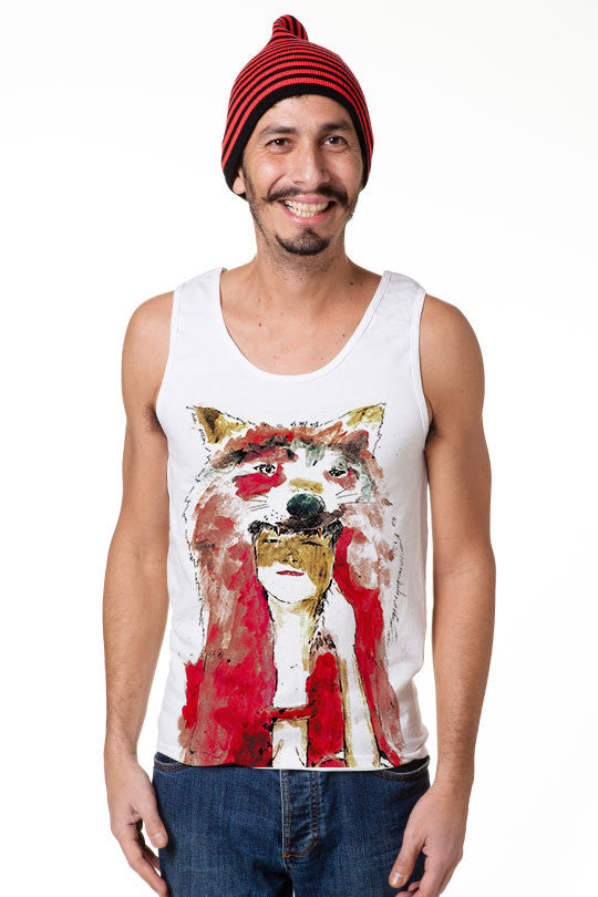 Cool Wolf tank top men