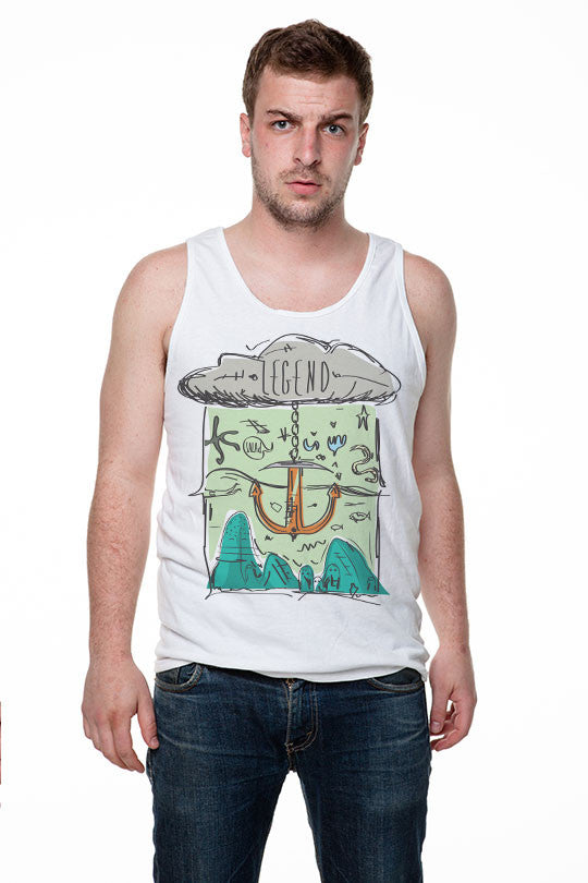 Roberto Gentili - Salad 2  - Men Tank Top