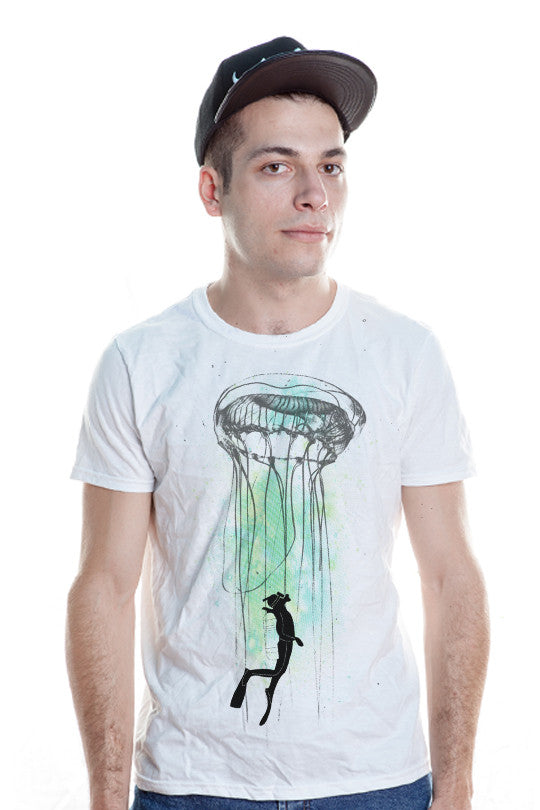 cool animal tee for men