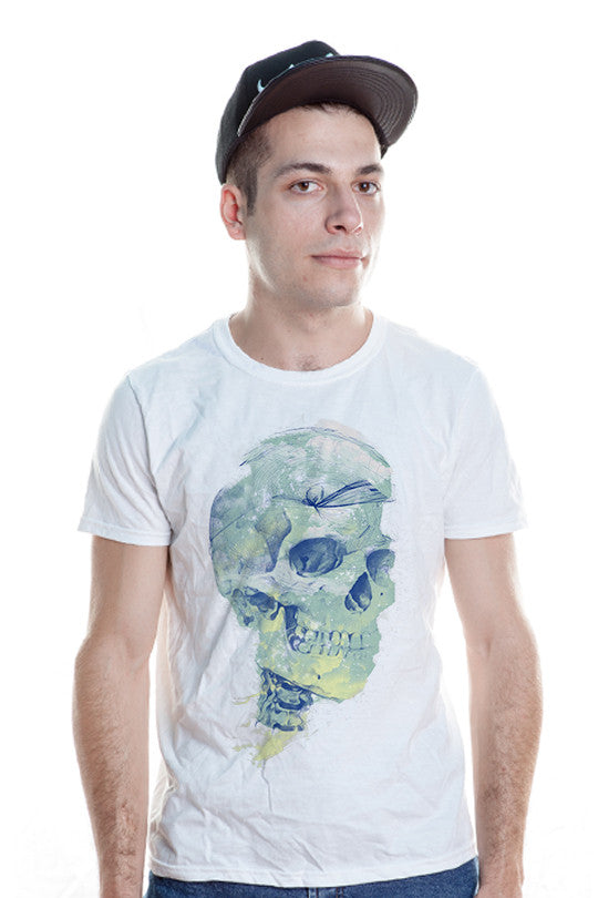 deadly-sky skull t shirt