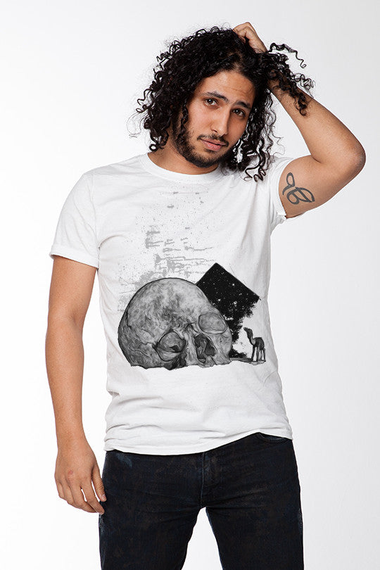 Skull Mirage Graphic T-Shirt men