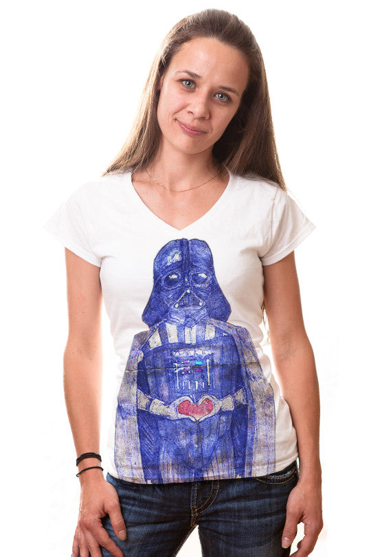 vader-love star wars tee women