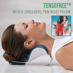 TenseFREE™ Neck & Shoulders Pain Relief Pillow