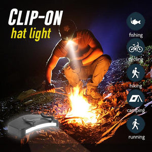 Clip-On Hat Light